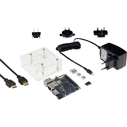 Preisvergleich Produktbild Banana Pi BPI-M2+ Starter BPI-M2+ 1GB 4 x 1.0GHz inkl. Netzeil,  inkl. HDMI-Kabel,  inkl. Kühlkörper