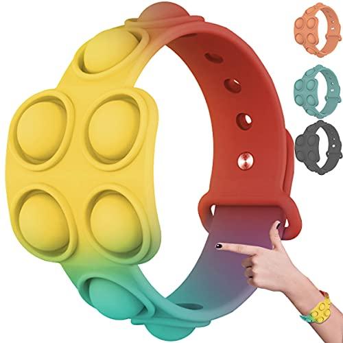 Mini Simple Fidget Toys, sensorisch speelgoed voor autisme, decompressiearmband Stressverlichtend friemelend spel…