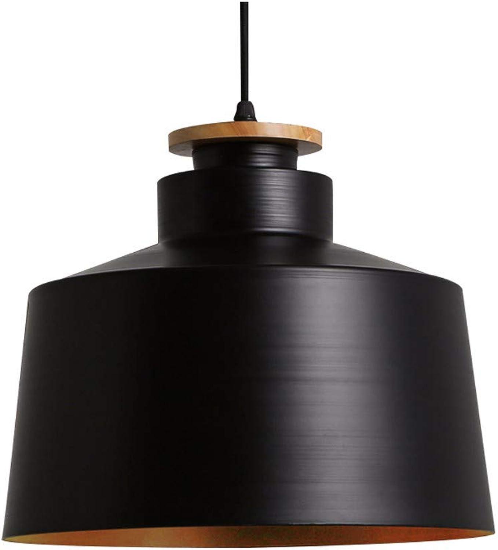 JDFM5 Iron wood, schwarz Pendelleucht vintage dimmbar Hngelampe Deckenleuchte Deckenbeleuchtung Hngeleuchten Leuchte Kronleuchter Lampe