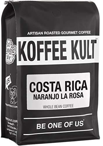 Costa Rica Coffee - Naranjo La Rosa - Medium Roast Coffee Beans Koffee Kult (12oz Whole Bean)