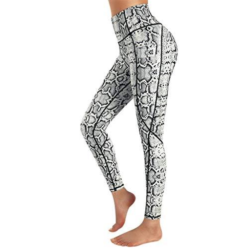 SHOBDW Mujeres Carta de moda Estirar Imprimir Push Up Entrenamiento Leggings Gimnasio Deportes Gimnasio Cintura alta Mallas para correr Pantalones de yoga Pantalones deportivos suaves(Rosa Caliente,M)