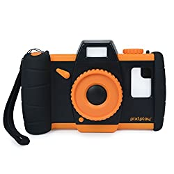 Pixlplay camera, orange