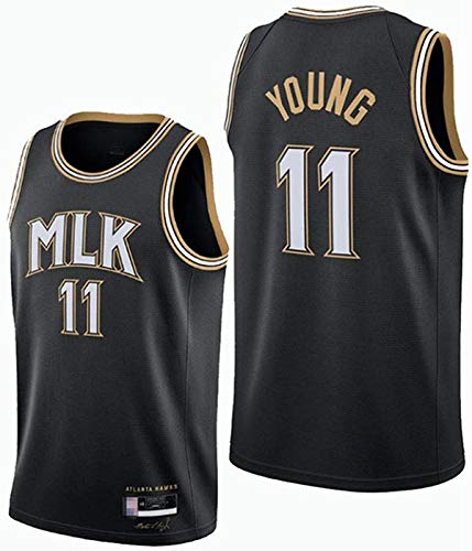 XSJY Jerseys De Baloncesto De Los Hombres - NBA Atlanta Hawks 11# Trae Young Swingman Edition Malla Jersey Unisex Vest Mayas Sportwear Top Sportwear,A,XL:180~185cm/85~95kg