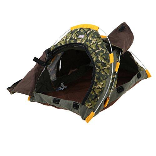 Baoblaze Mini Outdoor Camping Zelt Puppenzubehör Für 1/6 Soldaten Puppen Spielzeug