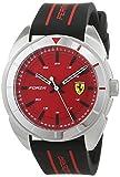 Scuderia Ferrari Reloj Analógico para Hombre de Cuarzo con Correa en Silicona 830543