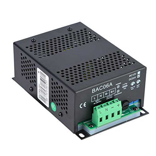 Cargador de batería inteligente de plomo de ácido automático de 24 V Sistema de generador diesel de carga flotante inteligente Accesorio