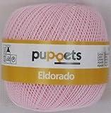 Coats GmbH 50g Puppets Eldorado - Farbe: 7510 - rosa - Häkelgarn Stärke 10