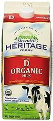 Stremicks Heritage Organic Whole Milk Vitamin D - Chilled