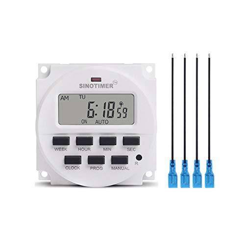 ATATMOUNT 5 V 9 V 12 V 24 V 36 V 48 V 110 V 220 V digitale timer 7 dagen week-timer programmeerbare batterij oplaadbaar