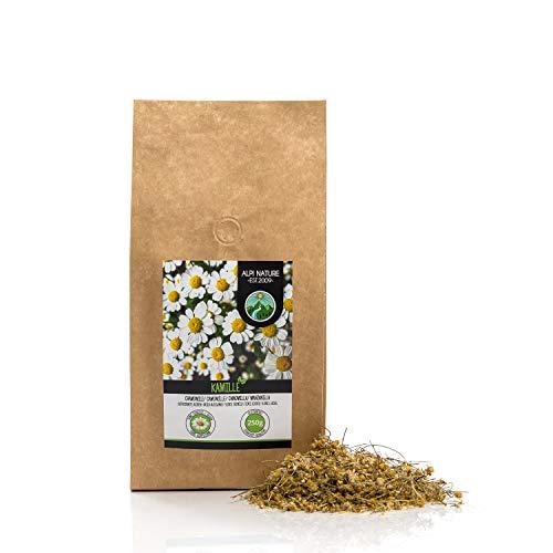Flores de manzanilla (250g), suavemente secadas, 100% naturales para la preparación de infusiones