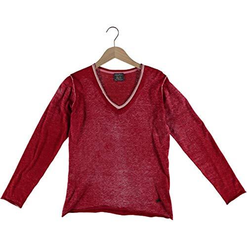 XOX WE Love Pullover rot, Gr.38 Damen