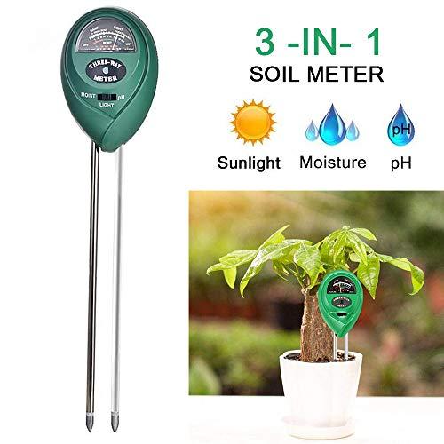 Bodem Test Kit 3 in 1 Soil Tester met vocht Licht en PH Meter Indoor Outdoor Plants Care bodemsensor voor Home Garden Farm Kruiden Gereedschap