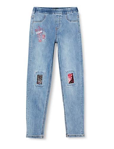 Desigual Girls Denim_AGUA Casual Pants, Blue, 7/8