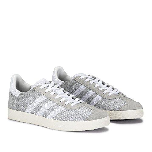 Adidas Gazelle Primeknit Gris - Zapatillas Mujer - Gris, 37 1/3