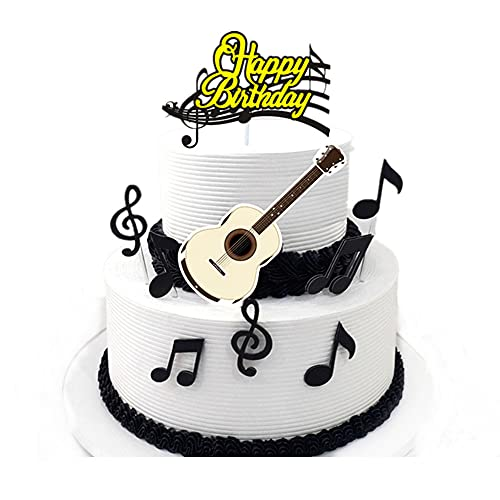 Music Notes Cake Toppers,Musical...
