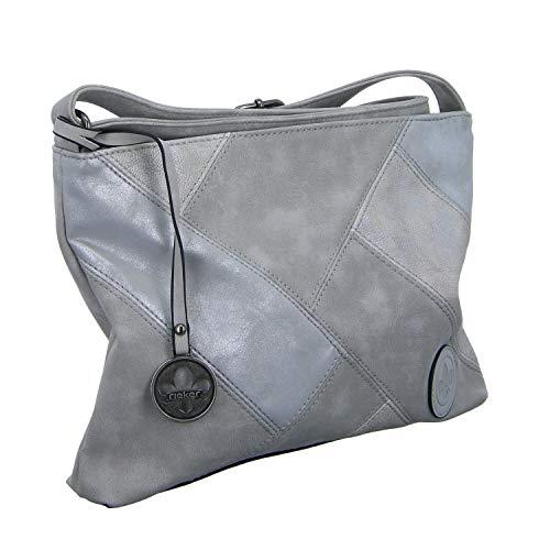 Rieker Echo Womens Messenger Handbag Eine Größe Grau (Frost)
