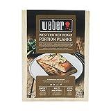Weber Tablas para ahumar (Madera de Cedro, 4 Uds)