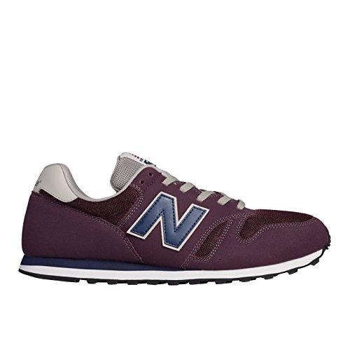 New Balance ML373 D, Herren Sneaker, Rot - Rouge (Ac Burgundy), 42 EU / 8.5 US