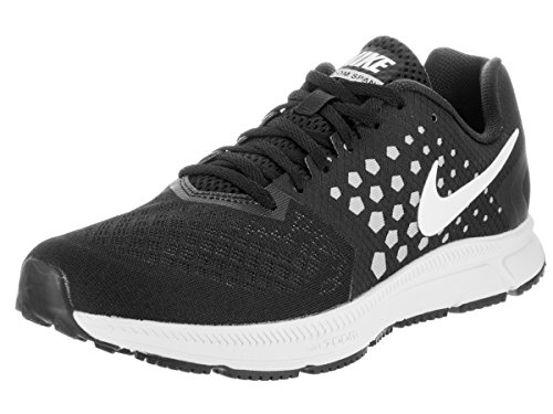 Nike Zoom Span Mens Running Trainers 852437 Sneakers Shoes (UK 9 US 10 EU 44, Black White Wolf Grey 002)