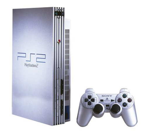 PS2 - Konsole #silber