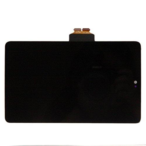 SKILIWAH® Asus Google Nexus 7 2012修理用 液晶LCD タッチパネル+フルLCD (フロントガラスデジタイザ) ME370T 修理用キット 工具セット付き ブラック