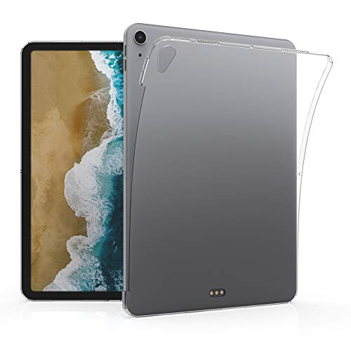 kwmobile Hülle kompatibel mit Apple iPad Air 4 (2020) - Tablet Cover - Tab Case Silikon Schutzhülle in Transparent