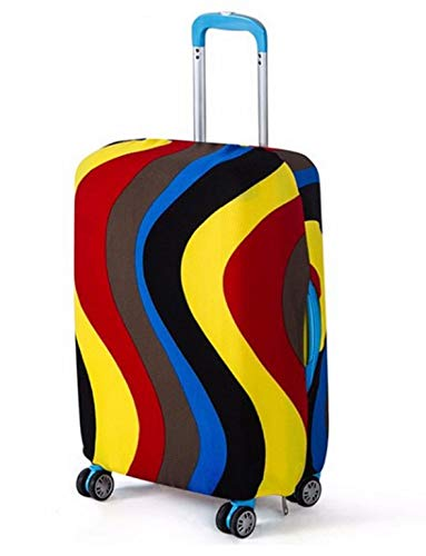Travel Luggage Cover Suitcase Case Protector Elastic Cover Apply for Many Size Travel Bags Medium Design