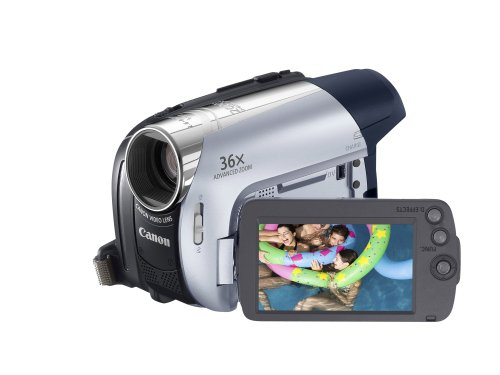 Canon MD205 Digital MiniDV Camcorder (36 x Optical Zoom With 2.7'...
