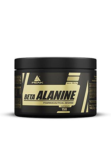 PEAK Beta Alanin 150 Kapseln 4.000 mg Beta Alanin pro Portion