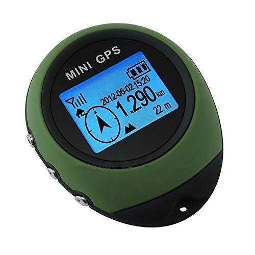 TIANG Mini Navigation GPS Portable/Récepteur Portable avec Porte-clés pour la randonnée, la...