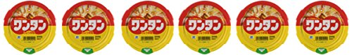 Maruchan Instant Won-ton Soup, Soy Sauce Taste, 1.1oz(32g) X 6 Bowls (For 6 Servings)[Japan Import] by Maruchan