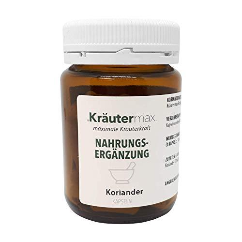 Kräutermax Extracto de cilantro 125 mg cápsulas 1 x 60 piezas veganas