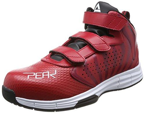 [ピーク] 安全靴 セーフティーシューズ メンズ レッド×ホワイト 28.0 cm 3E
