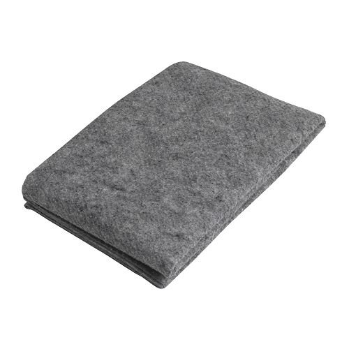 Ikea Entfernung Aktivkohle–Teppichunterlage mit Anti-Rutsch–165x 235cm