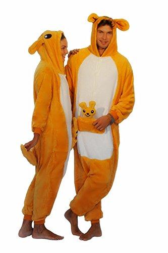Winnie the pooh personajes Pijama Completo cerdito burro eeyore Tigre onesie Fiesta Disfraz de Kigurumi Con Capucha PIJAMA Sudadera Ropa Para Dormir regalo de Navidad (Canguro, L(height 170cm-180cm)