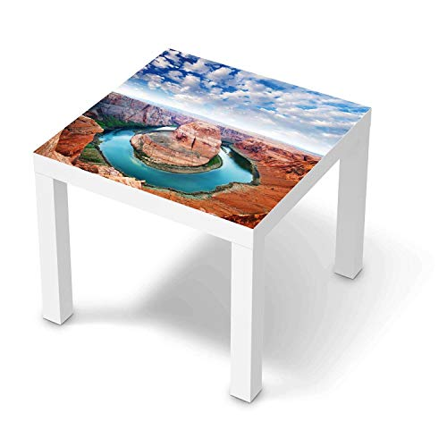 creatisto Möbeltattoo passend für IKEA Lack Tisch 55x55 cm I Möbeldekoration - Möbel-Aufkleber Folie Tattoo I Deko DIY für Schlafzimmer, Wohnzimmer - Design: Grand Canyon
