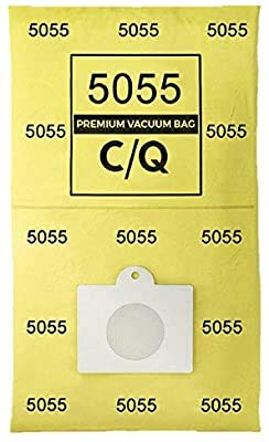 Casa Vacuums Replacement 12 Pk. for Kenmore Style C & Style Q 5055 50557 50558 Micro Lined Canister Vacuum Bags. Also Fits Panasonic C-5, C-18.