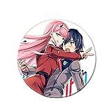 Ailin Online Darling in The FranXX: Broche de anime japonés para ropa, bolsos, gorras y estuches (estilo 01)
