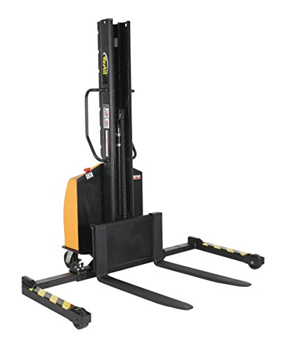 Vestil SLNM15-63-AA Stacker Power Lift Adjustable Fork, 1500 lb. Capacity, 65.5