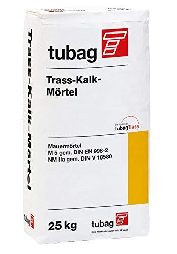 Tubag TKM 5 Trass-Kalk-Mörtel 0-2 mm 25 kg