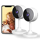 Best 2 Camera Video Monitors - [2021 Upgraded] WiFi Camera Littlelf Security Camera Indoor Review