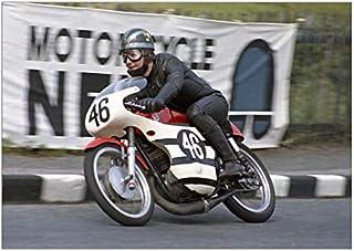 A1 Poster of Bob Ware (Bultaco) 1970 Ultra Lightweight TT (20337499)