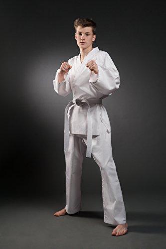 Orkansports - Traje de Karate, Color Blanco, 100
