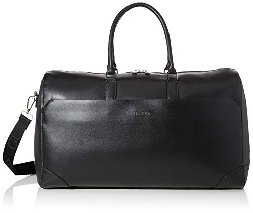 Guess Manhattan Borsa a mano, Uomo, Nero (Black)
