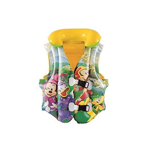 Bestway 91030 Giubbotto Salvagente per Bambini Mickey Mouse