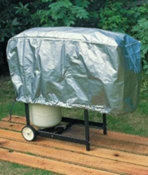 Gas Grill Cover Large Heavy Duty Fits Grills up to 50  Wide