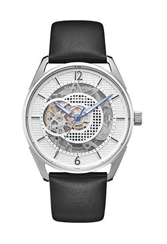 Kenneth Cole Reloj Analógico para Hombre de Automático con Correa en Cuero KC50205001