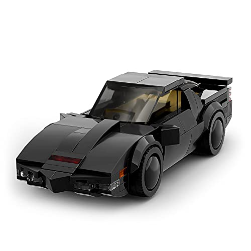 Kitt Juegos de Ladrillos de Bloques de construcción de vehículos para automóviles, Juguetes de ensamblaje para niños, Juguetes de Autos de Carrera para niños Adultos (208 Piezas)