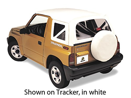 Bestop 51366-01 Black Crush Replace-A-Top Soft Top Clear Windows; No Door Skins Included for 1999-2004 Chevrolet Tracker/Suzuki Sidekick