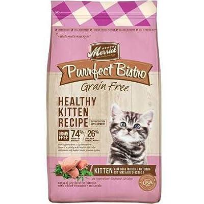 Merrick Purrfect Bistro Healthy Kitten Recipe Dry Cat Food (7 lb)